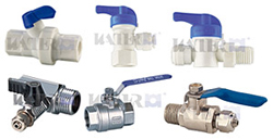 Water filter supply and valve
